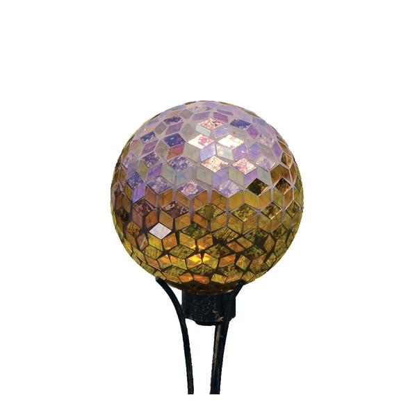 Shop Carson Home Accents Auburn Art Glass 10 Inch