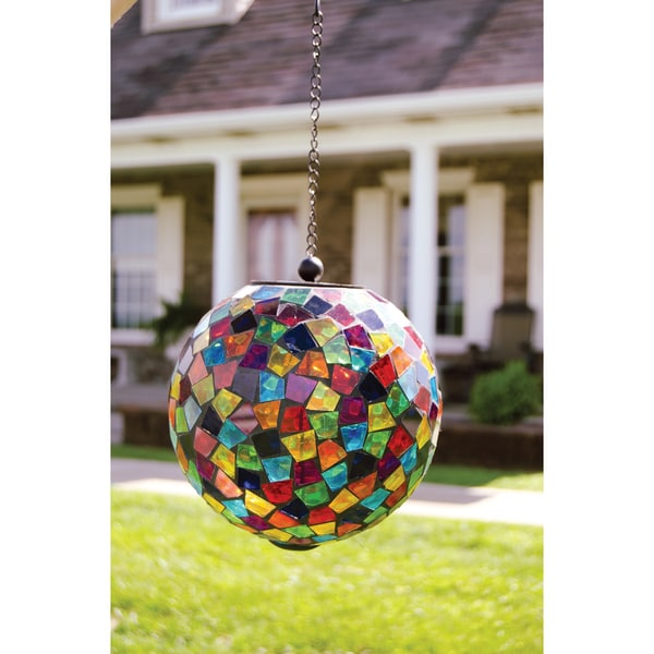 Shop Carson Home Accents Multicolored Hanging Mosaic Solar