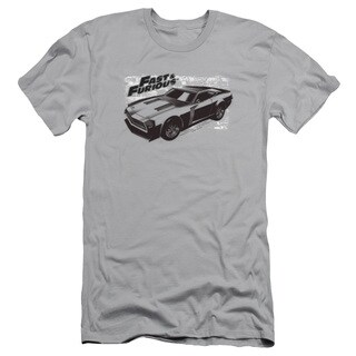Fast & Furious/Spray Car Short Sleeve Adult 30/1 in Silver