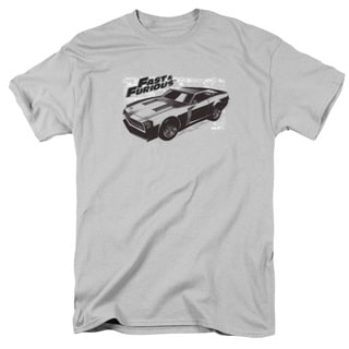 Fast & Furious/Spray Car Short Sleeve Adult 18/1 in Silver