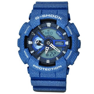 Casio Men's GA110DC-2A G-Shock Blue Watch