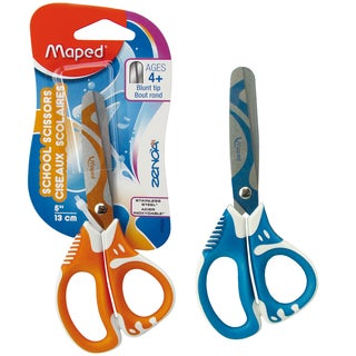 "Helix 670220 5"" Blunt Soft Grip Scissors Assorted Colors"