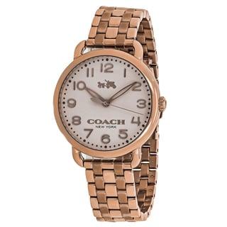 Coach Women's 14502262 Delancey Watches