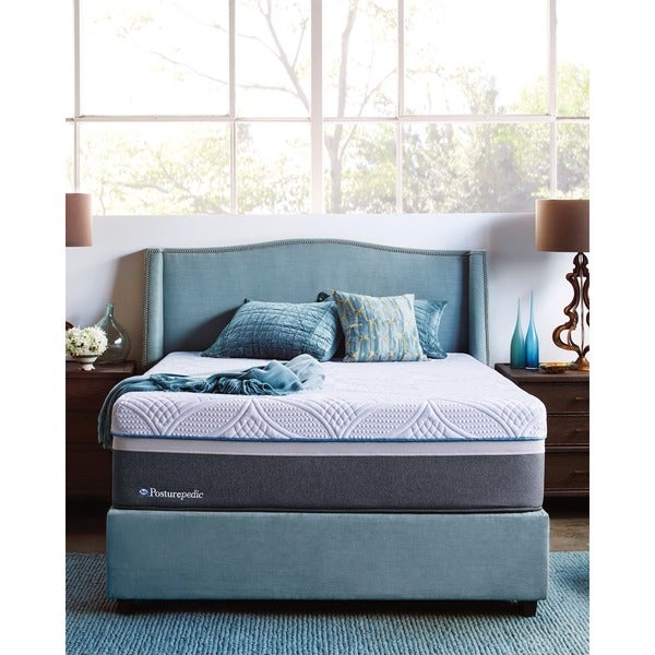Sealy Posturepedic Hybrid Copper Plush Queen Size Mattress