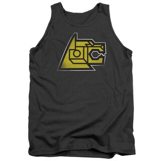 Voltron/Lion Symbol Adult Tank in Charcoal