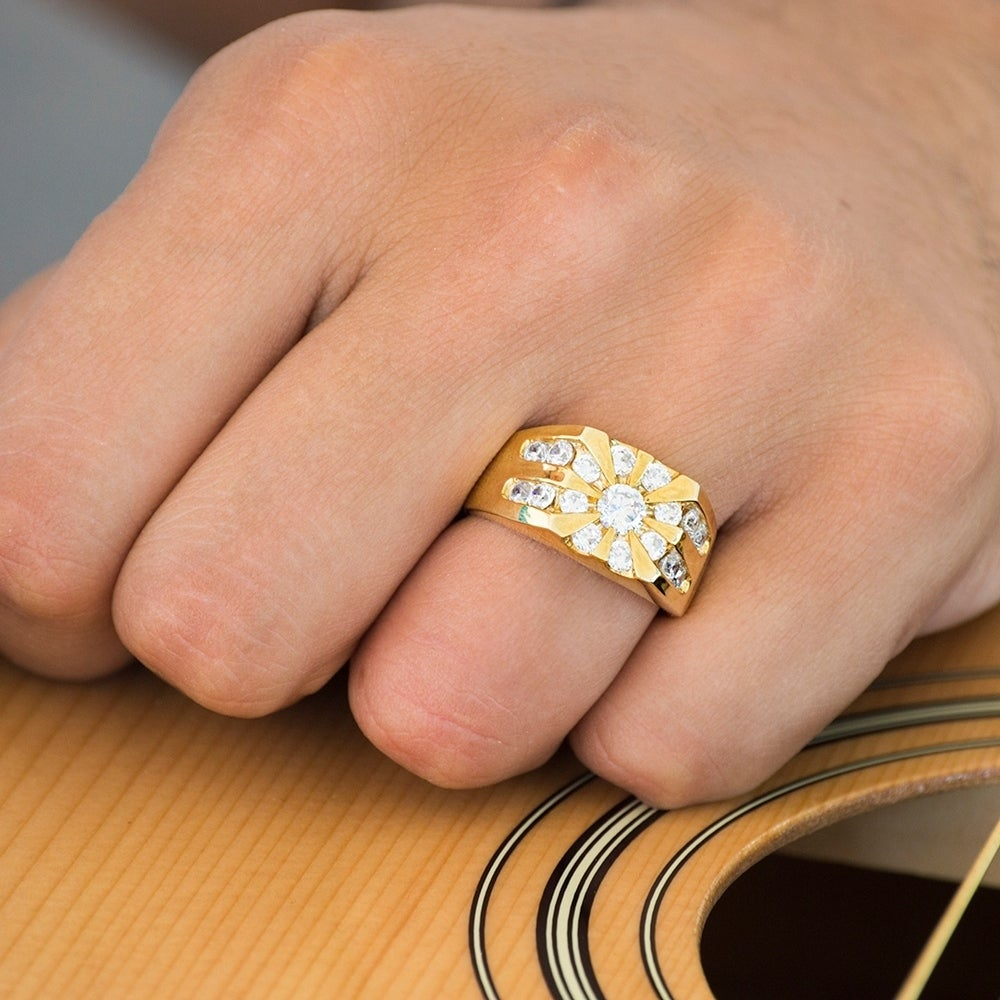 carat vintage engagement marquise stones moissanite white shaped promise ring gold wedding rings