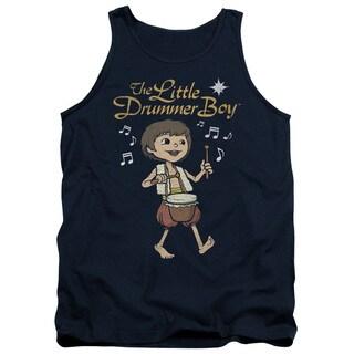 Little Drummer Boy/Starlight Adult Tank in Navy