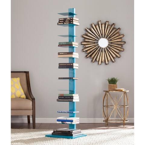 Porch & Den Denargo Blue Spine Tower Shelf