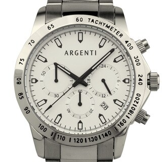 Argenti Men's Racing Style Chronograph with Miyota VD53B Movement