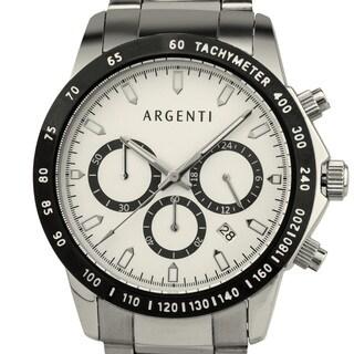 Argenti Carmichael Men's Racing Style Chronograph, Miyota VD53B Movement