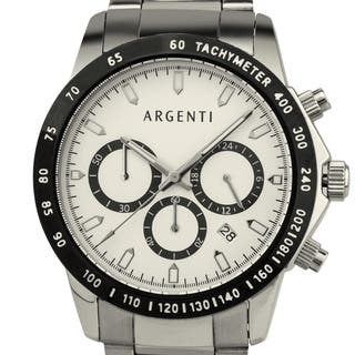 Argenti Carmichael Men's Racing Style Chronograph, Miyota VD53B Movement|https://ak1.ostkcdn.com/images/products/12519696/P19325390.jpg?impolicy=medium