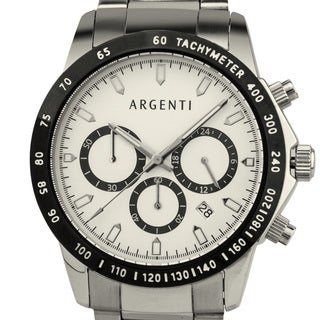Argenti Carmichael Men's Racing Style Chronograph, Miyota VD53B Movement
