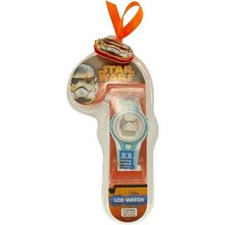 Disney Boy's Star Wars Blue Plastic Watch