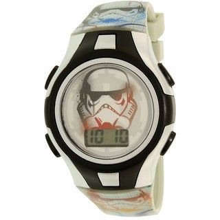 Disney Star Wars Boy's Multicolored Plastic/Resin Quartz Watch