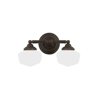 Sea Gull Academy 2 Light Heirloom Bronze Vanity