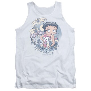 Boop/Aloha Adult Tank in White