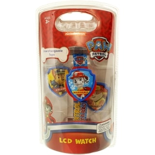Paw Patrol Boy's Paw Patrol PAWKD001 Blue Plastic Quartz Watch