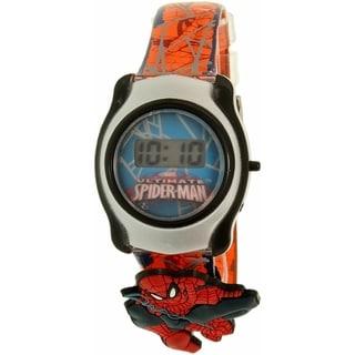 Disney Boy's Spider-Man SPMKD328KM Multi Plastic Quartz Watch