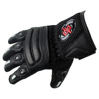 Perrini Pro Biker Bike Motorcycle Racing Motorbike Riding Genuine Leather All-size Racing Gloves