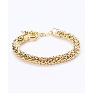 Link to Goldplated Popcorn Mesh Bracelet Similar Items in Bracelets