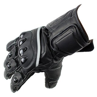 Perrini Racing Pro Biker Bike Motorcycle Racing Motorbike Riding Genuine Leather All-size Gloves