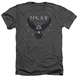 Air Force/Incoming Adult Heather T-Shirt in Charcoal