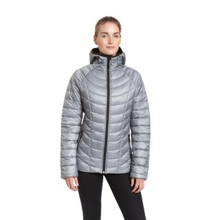 Champion Women's Polyester Featherweight Insulated Hoodie Jacket