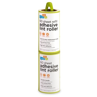 Honey Can Do LNT-03769 Lint Roller Plus Adhesive Roll 60-count