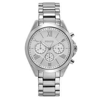 Women's Silvertone Stainless Steel Watch