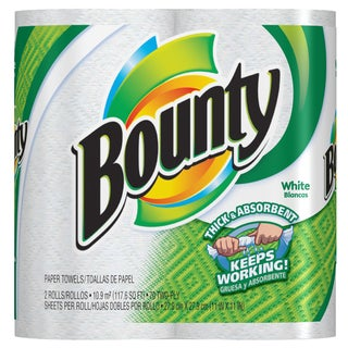Bounty 88202 White Bounty Towel 6-count