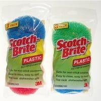 3M 215-FW Scotch-Brite Multi-Purpose Plastic Scrubbing Pads