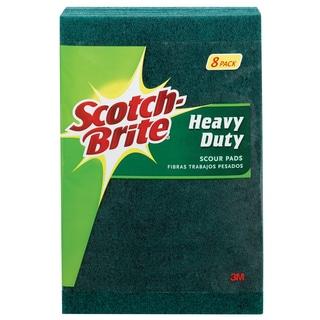 "3M 220-8-CC 8-count 6"" X 9"" Scotch-Brite Heavy Duty Scour Pad"