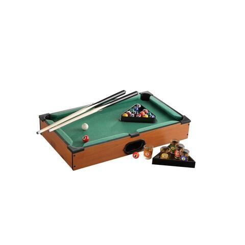 Game Night Plastic Table Top Pool Set