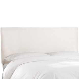 Skyline Furniture Premier White Upholstered Headboard
