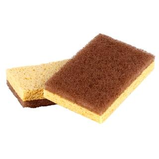 Full Circle FC11208 Walnut Scrubber Sponge 2-count