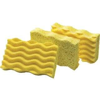 Libman 1075 Light Duty Sponge 3-count