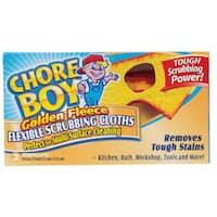 Chore Boy 00217 2CT Chore Boy Golden Fleece Scouring Cloth