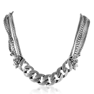 Stephen Webster Rayskin Oxidized Sterling Silver Necklace