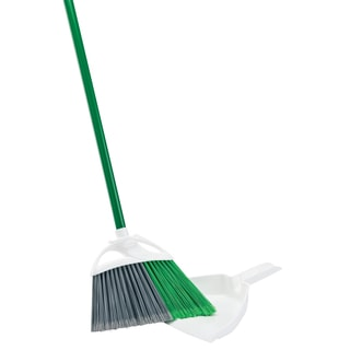 Libman 00206 Precision Angle Broom With Dustpan