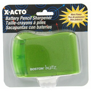 X Acto 16758 Boston Buzz Battery Operated Pencil Sharpener