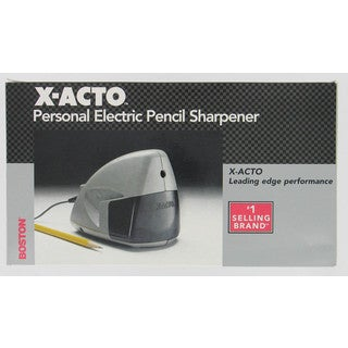 X Acto 19505 Boston MityMite Personal Electric Pencil Sharpener
