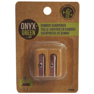 Onyx And Blue Corporation 2403 Bamboo Metal Sharpener