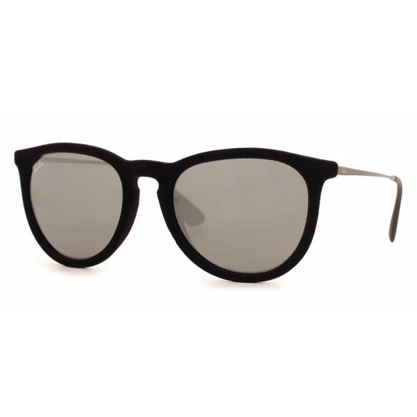 acb899df247 Ray-Ban Erika Velvet RB4171 Women  x27 s Velvet Black Frame Grey Mirror