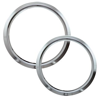 Range Kleen R68GE 6 & 8 Style D Chrome Trim Rings For Drip Pans