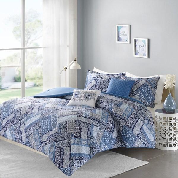 Intelligent Design Remy Blue 5-piece Comforter Set