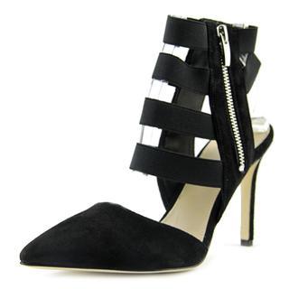 Via Spiga Women's 'Damali' Black Regular Suede Sandals