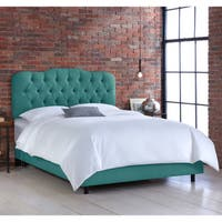 Skyline Laguna Tufted Linen Bed