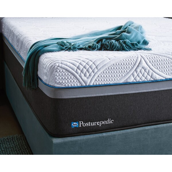 Sealy Posturepedic Hybrid Cobalt Firm King Size Mattress Set