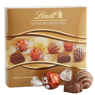 Lindt Signature Edition Boxed Chocolate Sampler