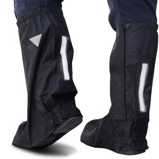 Oxgord Black Nylon Deluxe Motorcycle and Powersport Rain Boot Covers https://ak1.ostkcdn.com/images/products/12521510/P19326999.jpg?impolicy=medium